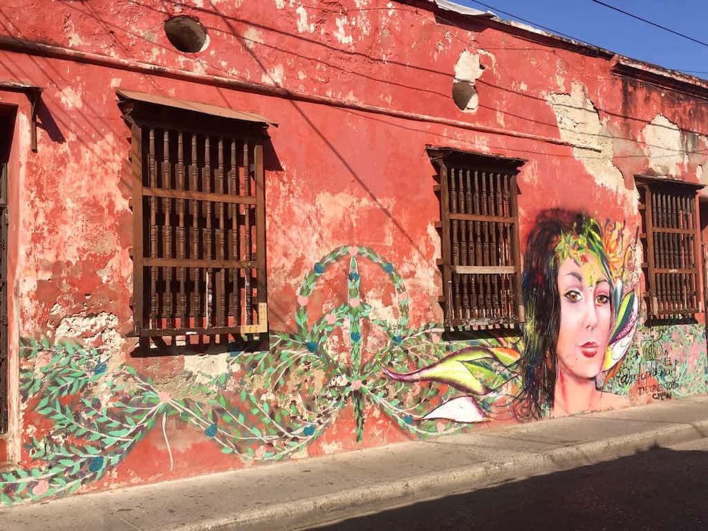 things to see in cartagena colombia - street art