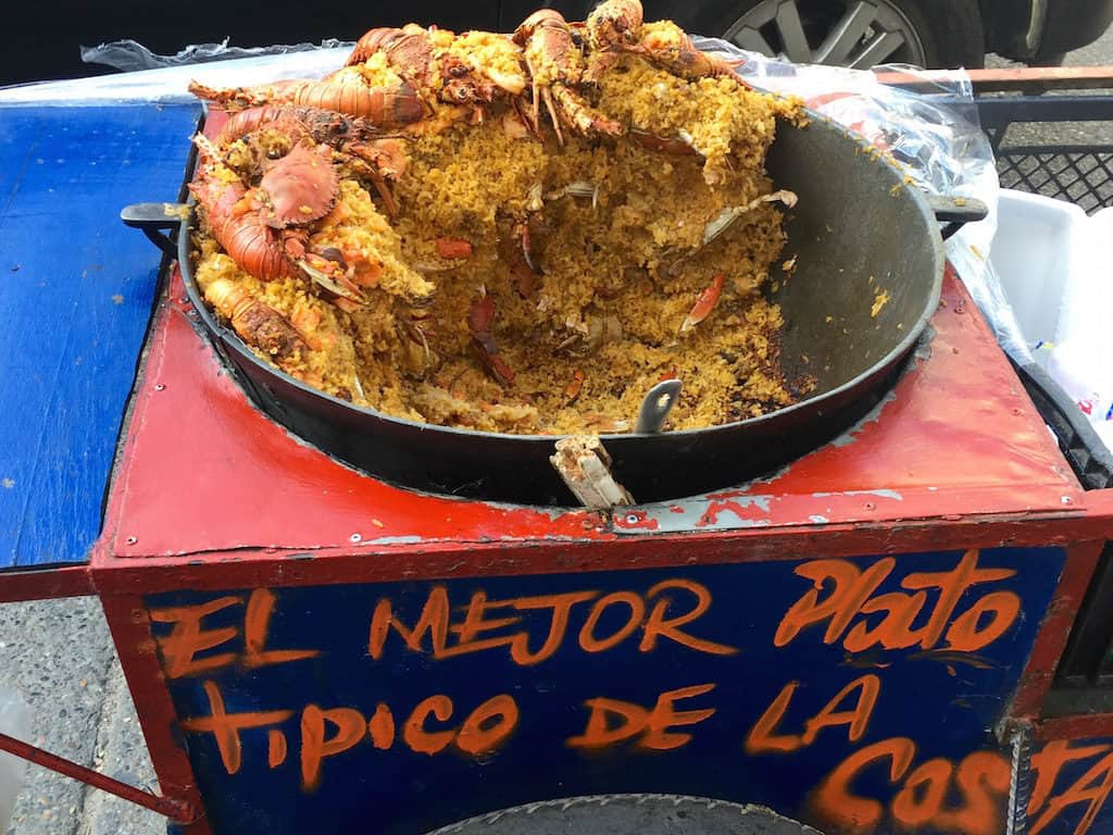 fun things to do in cartagena colombia - street food