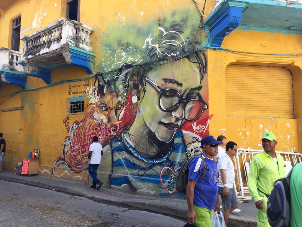 places to visit in cartagena colombia - getsemaní for street art