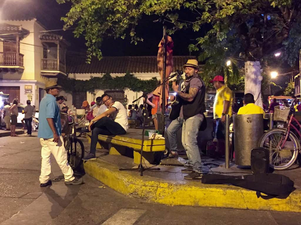 is cartagena safe? the getsemani neighborhood is lively and safe at night