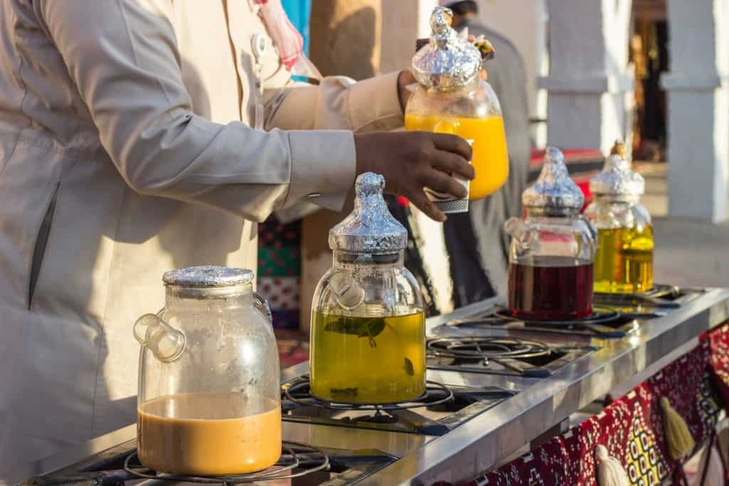 hot and cold drinks in saudi arabia