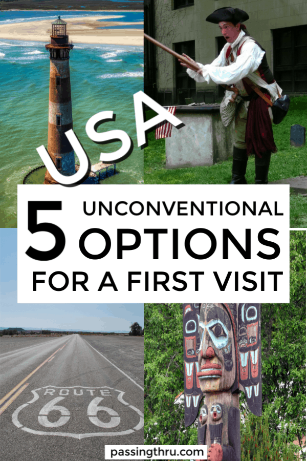 totem lighthouse revolution route66 5 unconventional options for a first visit to usa