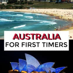 australia for first timers