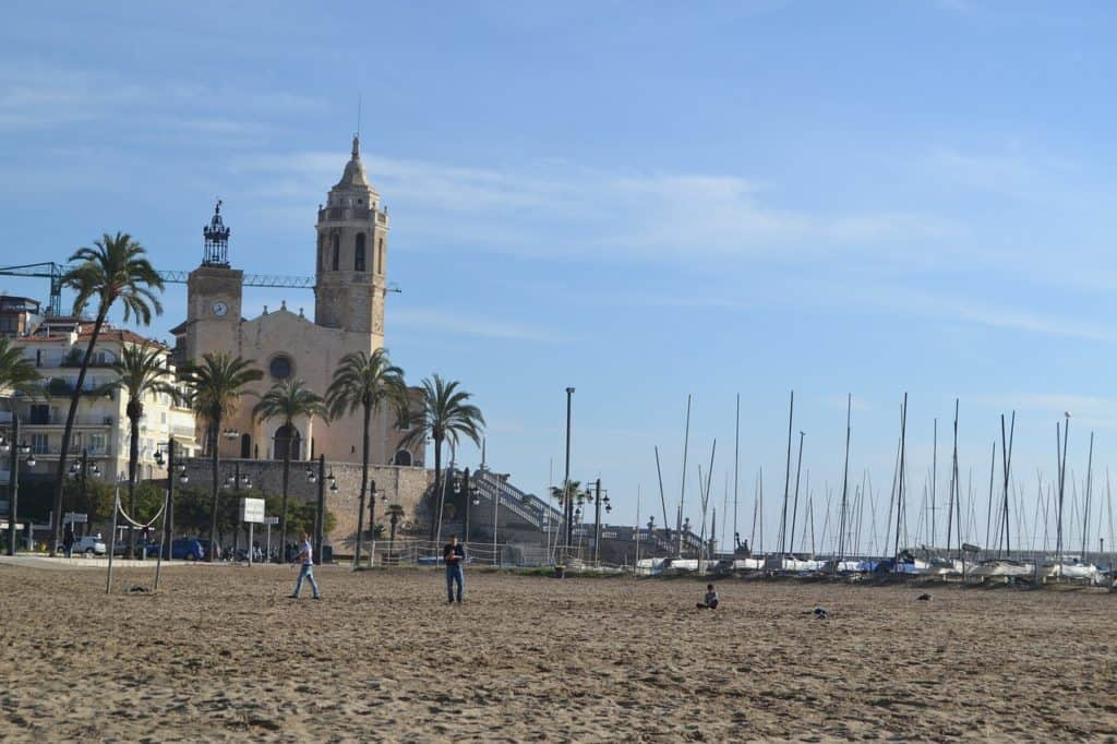 best day trips from barcelona spain: sitges