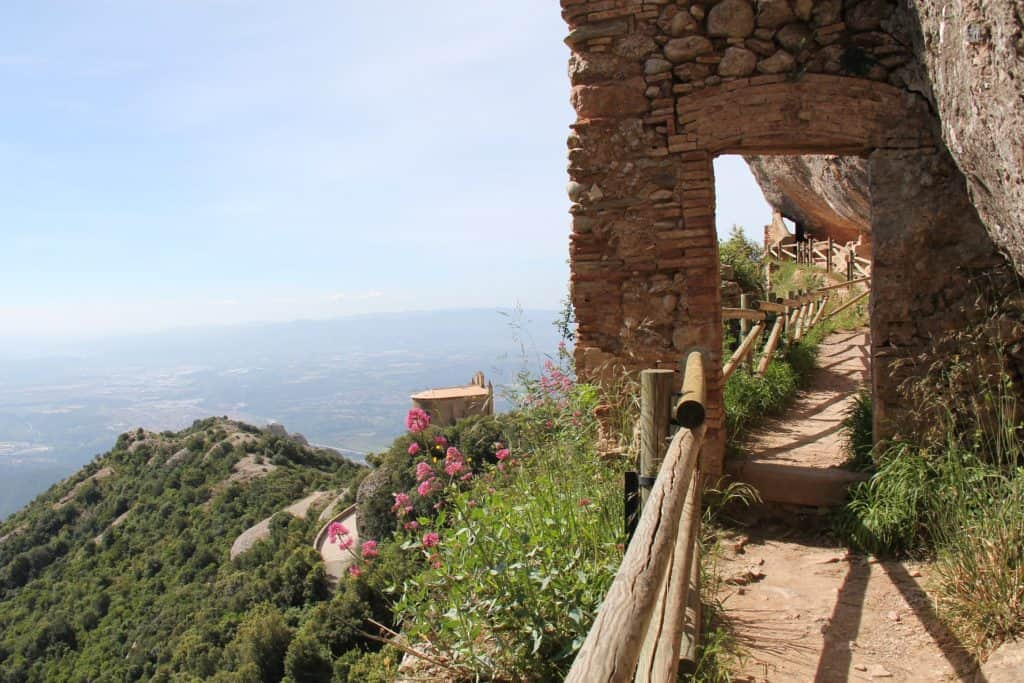 day tours from barcelona spain: montserrat pathway