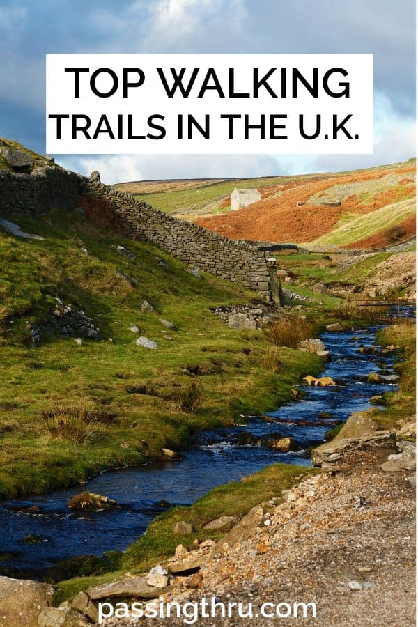 U.K. walking trails stretch for miles
