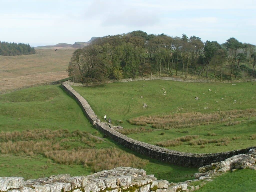 uk walking trail hadrian's wall