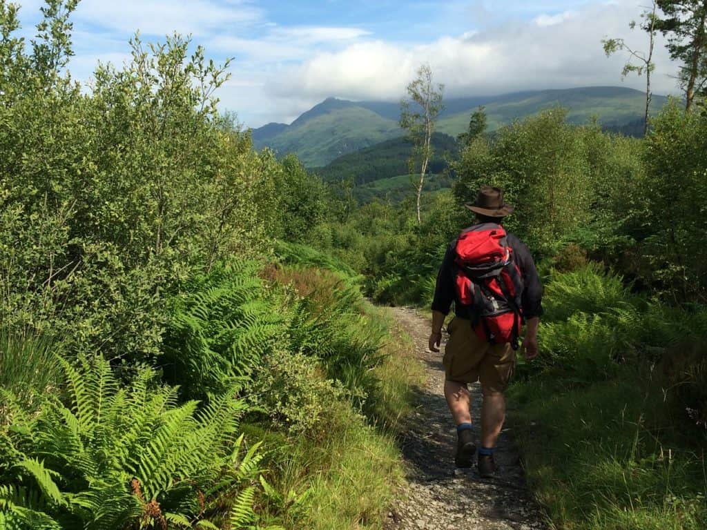 uk walking trails west highland way