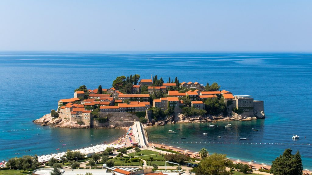 sveti stefan one of the top places to visit in Montenegro